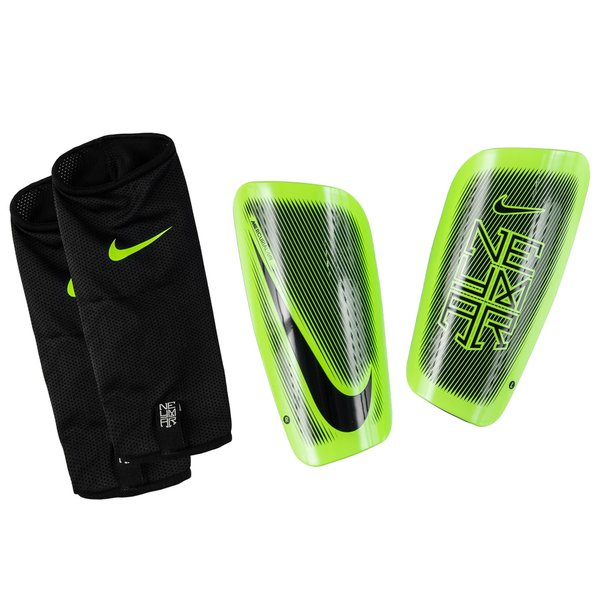 nike prot ge tibias mercurial lite neymar jr noir vert. Black Bedroom Furniture Sets. Home Design Ideas