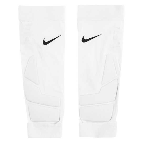 Nike Shin Pads Hyperstrong Match Padded Sleeve White Www