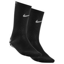 Nike Voetbalsokken NikeGRIP Strike Lightweight Crew - Zwart/Neon/Wit