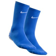 Nike Voetbalsokken NikeGRIP Strike Lightweight Crew - Blauw/Wit