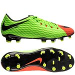 Nike Hypervenom Phelon 3 FG Radiation Flare - Vert/Noir/Orange