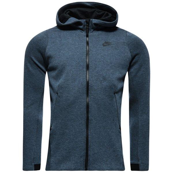 Nike Sportswear Kapuzenjacke Tech Fleece BlauSchwarz Damen