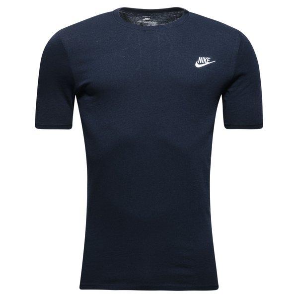 Nike T-Shirt Futura - Navy/Hvid thumbnail
