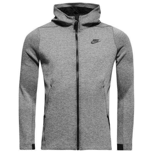 Nike Sportswear Veste à Capuche FZ Tech Fleece - Gris Noir Femme ... 2910e6a56c8