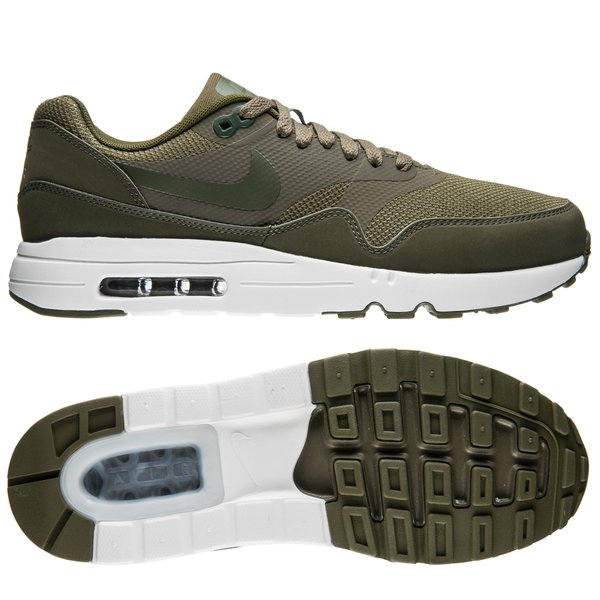 nike air max 1 groen wit