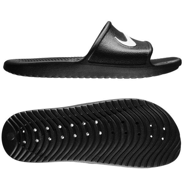 c740073feced34 Nike Slide Kawa Shower - Black White