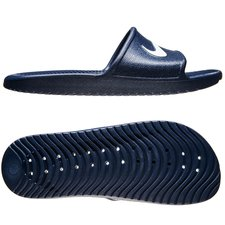 Image of   Nike Badesandal Kawa Shower - Navy/Hvid