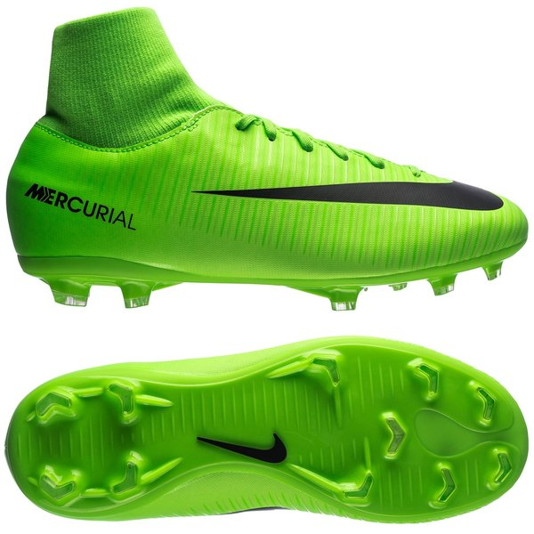 sale retailer 4ceee ac06e Nike Mercurial Victory VI DF FG Radiation Flare - Electric ...
