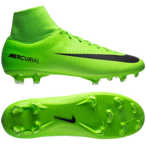 Nike Mercurial Victory VI DF FG Radiation Flare - Electric Green ... e1835bf8f4
