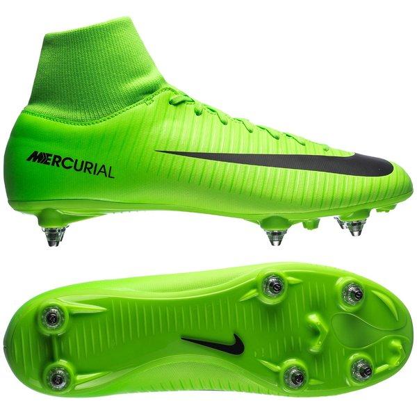 Nike Mercurial Victory VI DF SG Radiation Flare VertNoir