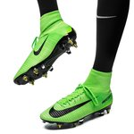 Nike Mercurial Superfly V SG-PRO Anti-Clog Radiation Flare - Grøn/Sort