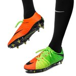 Nike Hypervenom Phantom 3 SG-PRO Anti-Clog Radiation Flare - Grøn/Sort/Orange