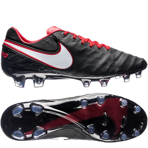 5b169f155645 nike tiempo legend 6 fg derby days - black white university red limited  edition ...