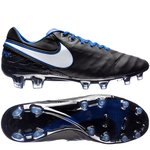 Nike Tiempo Legend 6 FG Derby Days - Sort/Hvid/Blå LIMITED EDITION
