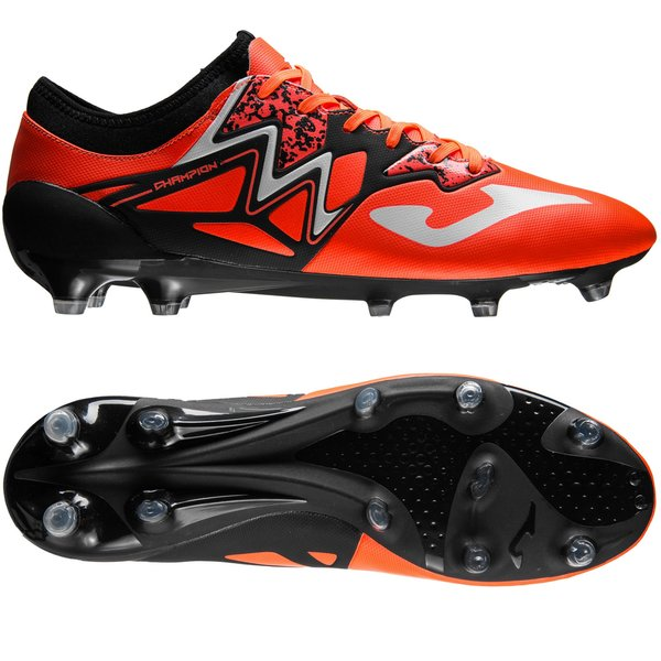 2b22eace7fb Joma Champion Max FG - Orange Black