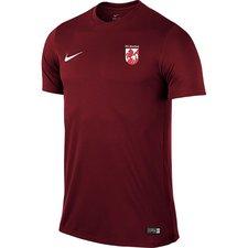 fs hashøj - hjemmebane t-shirt bordeaux - fodboldtrøjer