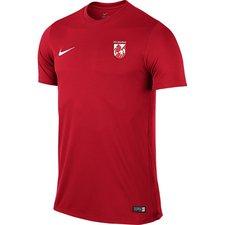 fs hashøj - trænings t-shirt rød børn - fodboldtrøjer