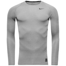 Image of   Nike Pro Cool Compression L/Æ - Grå/Sort