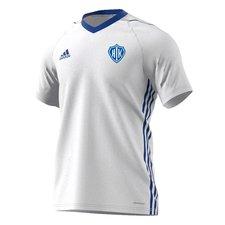 adidas spilletrøje tiro 17 - hvid/blå - fodboldtrøjer