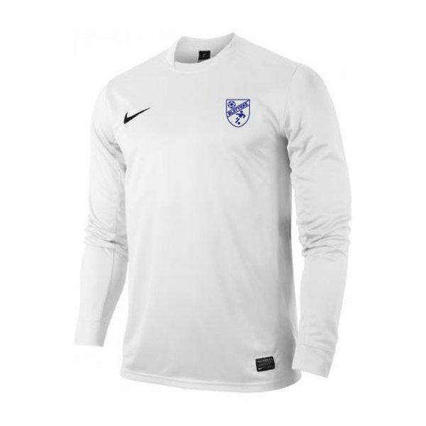 ølstykke fc - udebanetrøje hvid børn - fodboldtrøjer