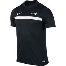 hf2000 - trænings t-shirt sort - fodboldtrøjer