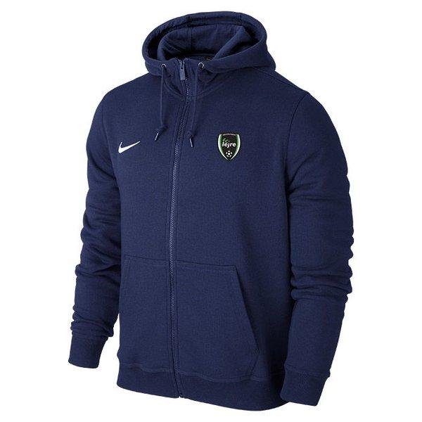 Nike Veste à Capuche FZ Team Club Bleu Foncé Enfant
