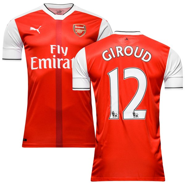 d593e9a7f Arsenal Home Shirt 2016 17 GIROUD 12