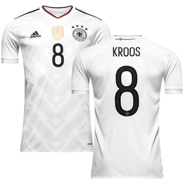 tyskland hjemmebanetrøje 2017 kroos 8 - fodboldtrøjer
