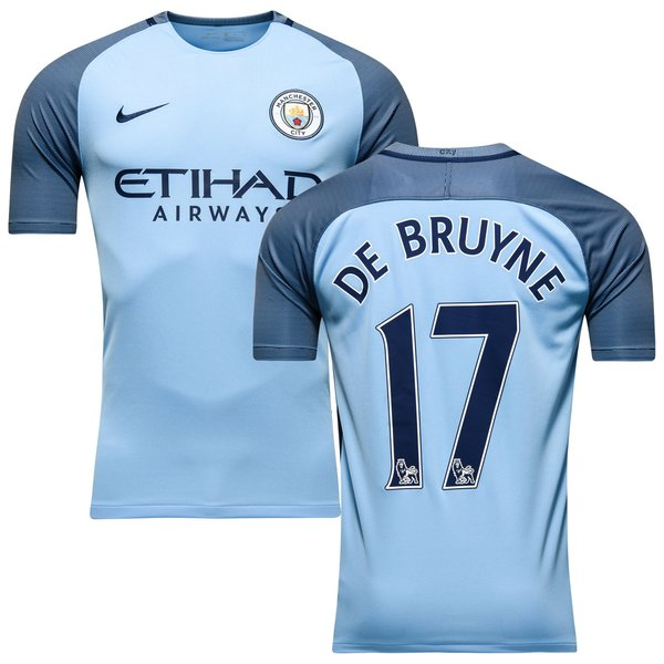 Manchester City Home Shirt 2016 17 DE BRUYNE 17. Read more about the  product. - football shirts image shadow 153f50ad7