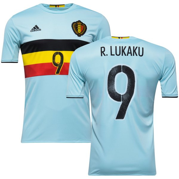 sale retailer bf1b1 dbfc4 Belgium Away Shirt 2016/17 LUKAKU 9 | www.unisportstore.com