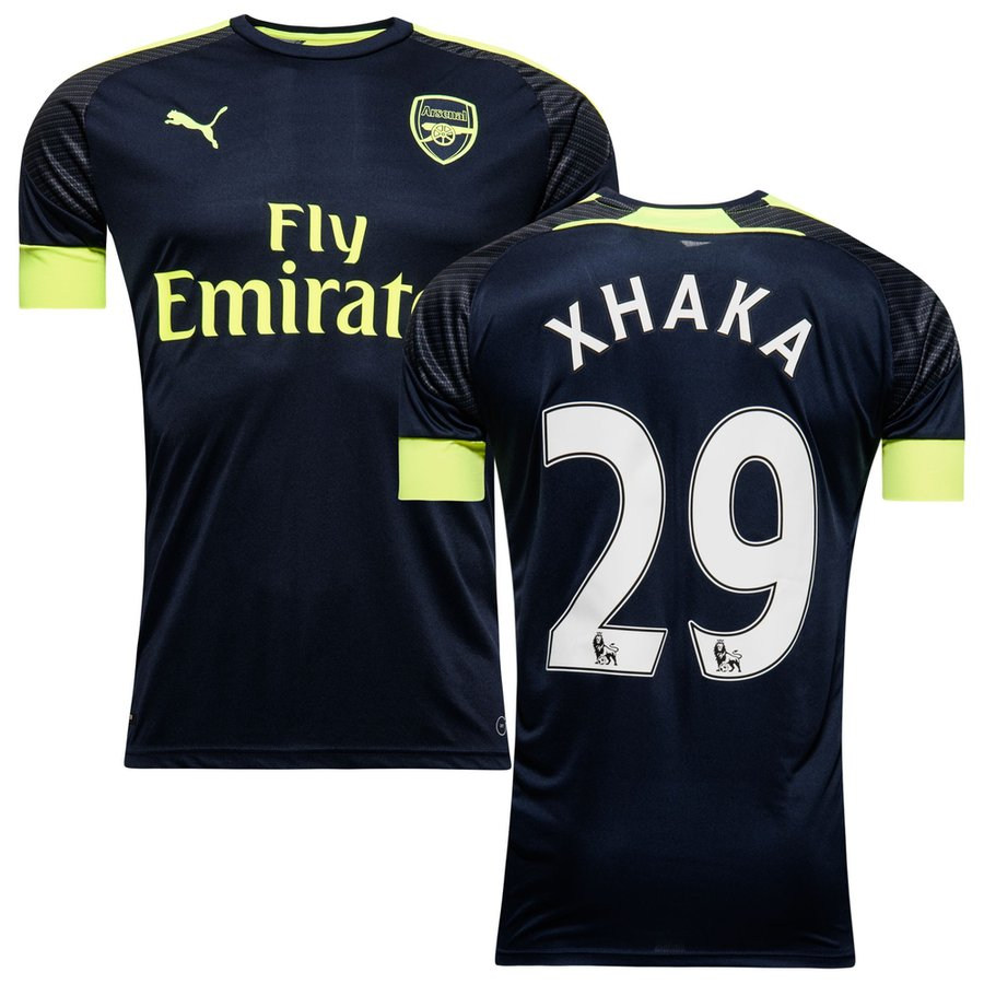 57141e676 Arsenal 3rd Shirt 2016 17 XHAKA 29