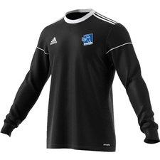 adidas playershirt squadra 17 l/s - black/white - football shirts