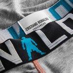 cr7 underwear underbukser 2-pack - sort/grå børn - undertøj