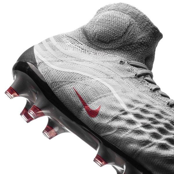 87e5034ea44d Nike Magista Obra II FG Revolution - Cool Grey/Varsity Red LIMITED EDITION