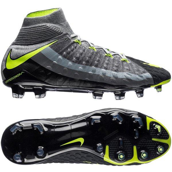 reputable site 0e0da 7caac Nike Hypervenom Phantom 3 DF Revolution - Wolf Grey/Volt ...