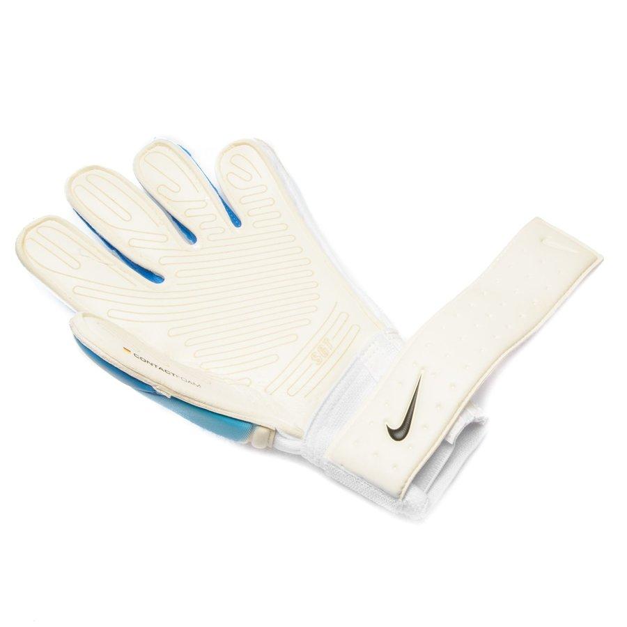 nike gants de gardien premier sgt motion blur blanc bleu noir. Black Bedroom Furniture Sets. Home Design Ideas