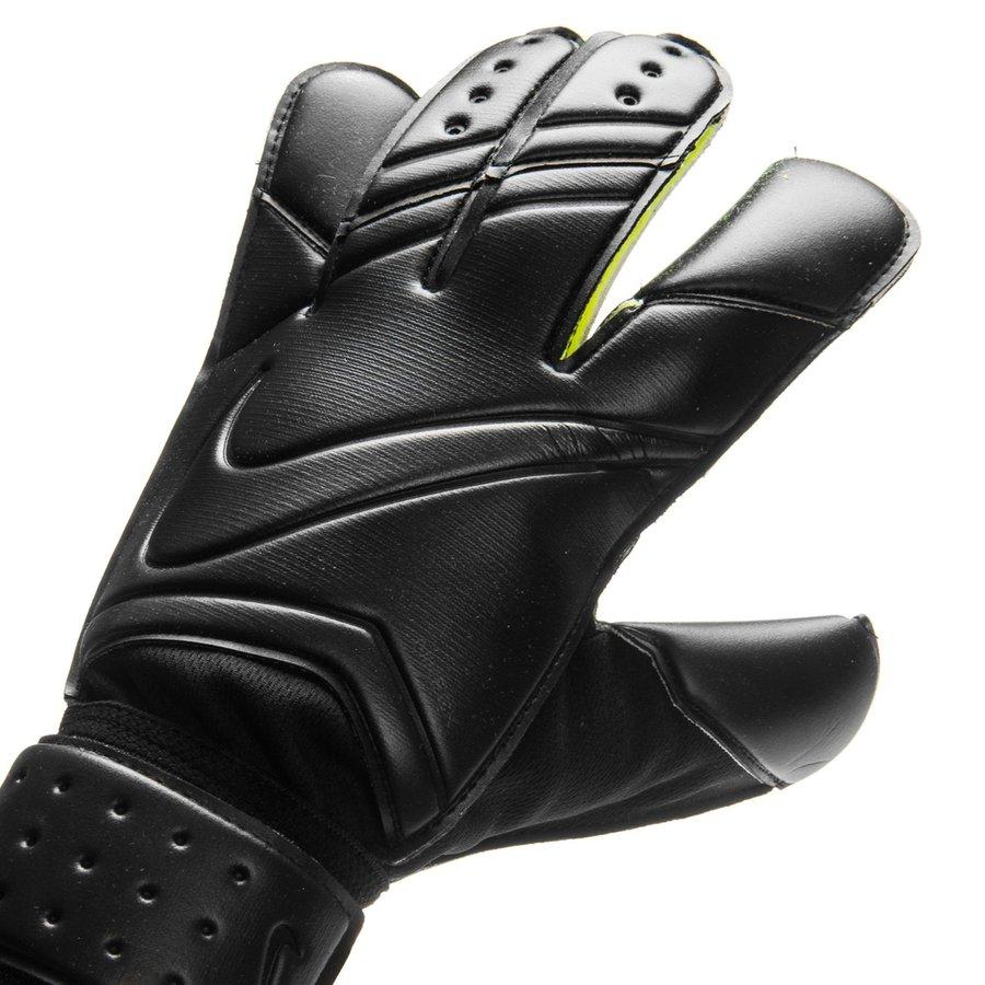 Nike Velcro Gloves: Nike Goalkeeper Gloves Vapor Grip 3 - Black