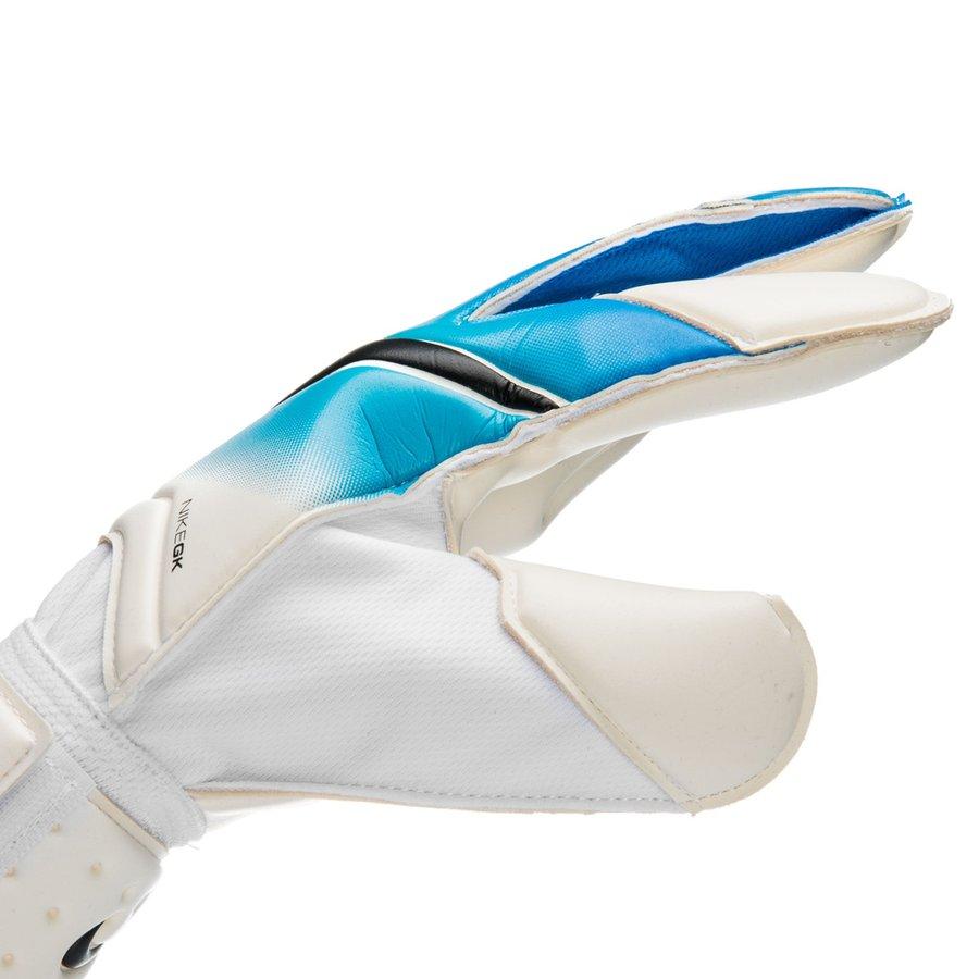 nike gants de gardien vapor grip 3 motion blur blanc bleu noir. Black Bedroom Furniture Sets. Home Design Ideas