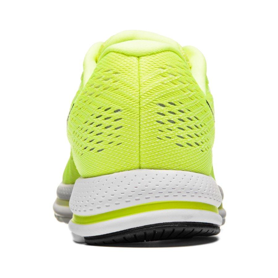 nike chaussures de running air zoom vomero 12 jaune fluo noir blanc. Black Bedroom Furniture Sets. Home Design Ideas