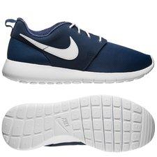 nike roshe one - navy/hvid børn - sneakers