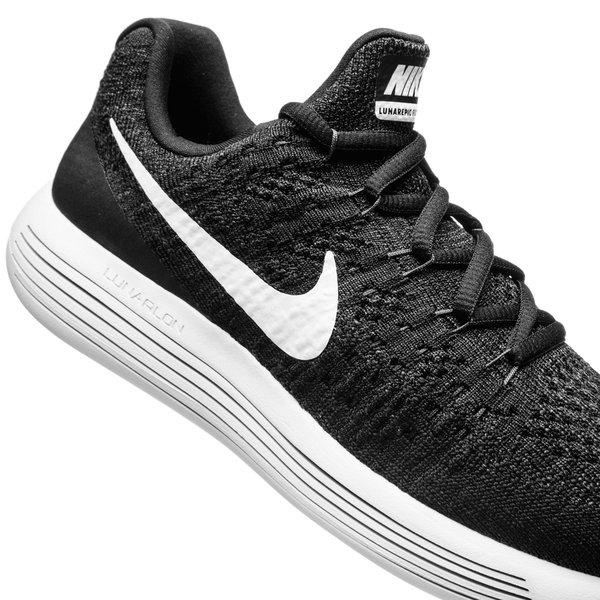 on sale 25afe 479ba Nike Running Shoe LunarEpic Low Flyknit 2 - Black/White ...