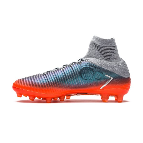 low priced bfc3c 312e5 Nike Mercurial Superfly V CR7 Chapter 4 AG-PRO - Cool Grey Orange