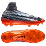Nike Mercurial Veloce III DF CR7 Chapter 4 FG - Grå/Orange