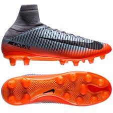 Nike Mercurial Veloce III DF CR7 Chapter 4 AG-PRO - Grå/Orange
