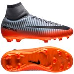 Nike Mercurial Victory VI DF CR7 Chapter 4 FG - Grå/Orange Børn