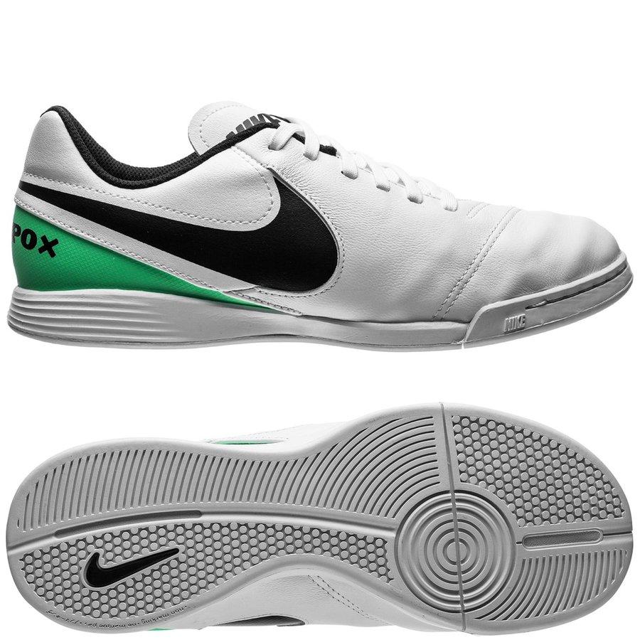 nike tiempox legend 6 ic motion blur - white black electro green kids ... 0547dd64f2f17