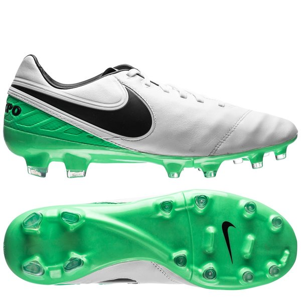 meet a5e2f 88682 Nike Tiempo Legacy II FG Motion Blur - White/Black/Electro ...
