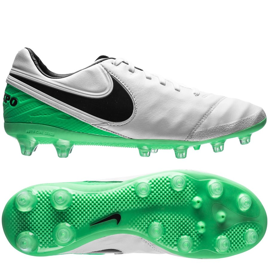 3ca19a002c75 Nike Tiempo Legacy II AG-PRO Motion Blur - White Black Electro Green ...