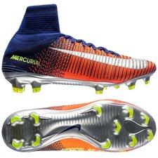 Nike Mercurial Superfly V Time To Shine Navy/Chrome/Orange